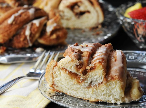 cinnamon twist slice