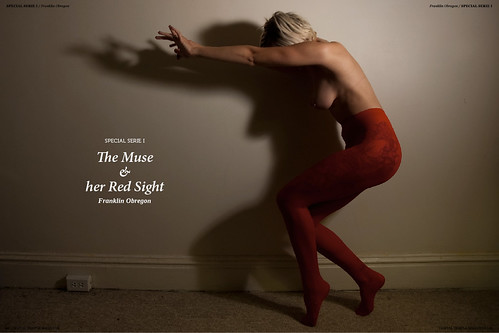 Special Serie #8 // The Muse & her Red Sight by Franklin Obregon.