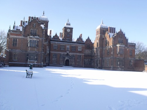 Aston Hall in Aston Park