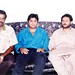 shahid nazir with criketer mushtaq Ahmad AND SHAHID NAZIR CHAUDHRY