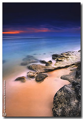 Lonely Day (ibrahem N. ALNassar) Tags: seascape canon landscape eos day 5 n l 5d lonely kuwait usm ef 1740mm f4 الوحيد اليوم ابراهيم الكويت كويت alnassar كانون ibrahem النصار