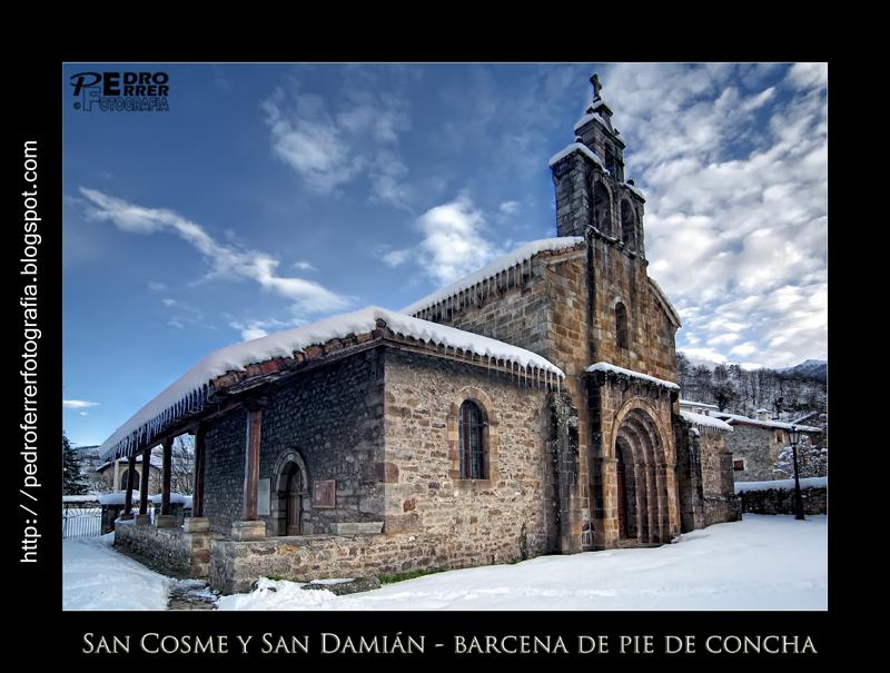 San Cosme y San Damián - Románico en Bárcena de Pie de Concha