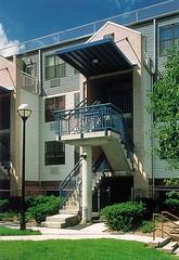 rear view, Melrose Court (via Affordable Housing Design Advisor)