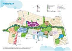 site plan for The Ponds, a Landcom development (by: Landcom)