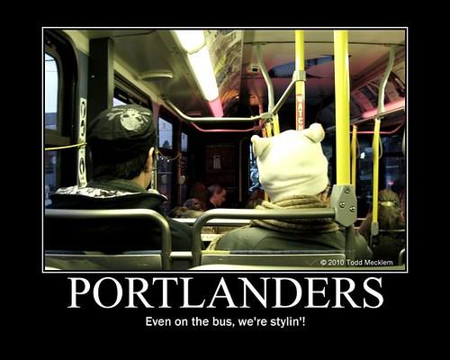 Portlanders motivational poster