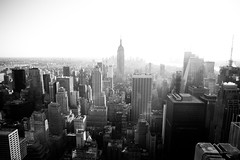 ______ (Jordan Green) Tags: new york city white black building green canon photography high skyscrapers state mark wide center jordan ii empire 5d rockefeller 2470mm