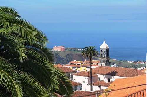 First view of the valley of Orotava