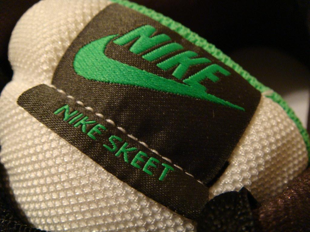 7ce2f81ca938b1 Nike Skeet (UnholyKnight) Tags  white black green shoes nike skeet
