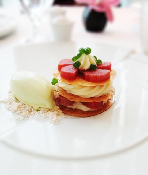 Luce - Rhubarb Napoleon