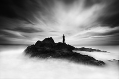 The Other Side (Midnight - Digital) Tags: longexposure sea sky seascape strange ghost dream dramatic atmosphere eerie creepy mysterious dreamy cinematic