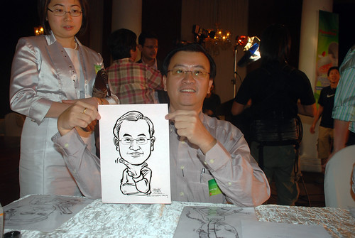 Caricature live sketching for GSK -11