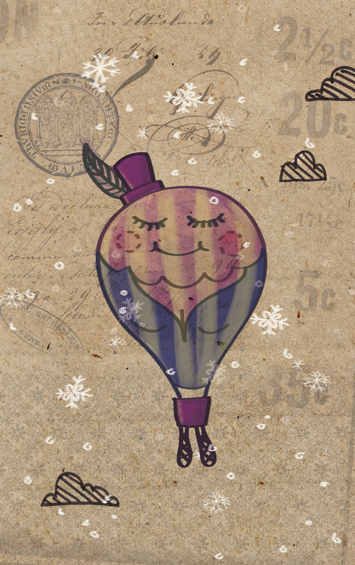 Winter Balloons: Miss Boobie