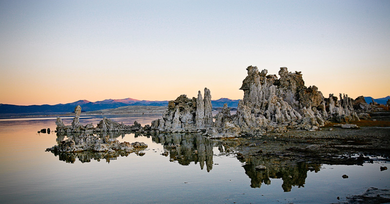 November Sunrise at Mono Lake