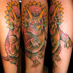 Piranha skeleton tattoo - photo#23
