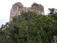 Arrivée à la tour de Sponsaglia