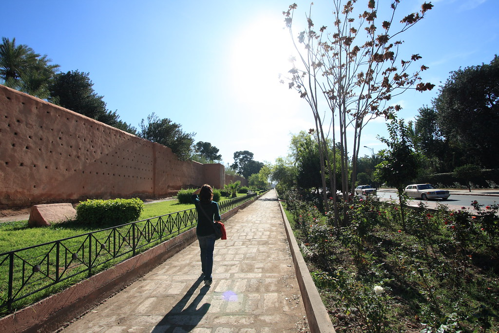 paseando por la muralla