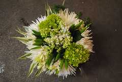 DSC_0602 (LizXVX) Tags: flowers white green floral daisies design mums hydrangea hyacinth lilacs