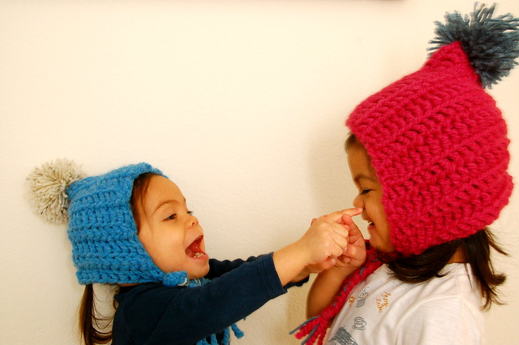 cute hats make girls silly