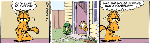 Garfield Minus Arbuckle, March 2, 2009
