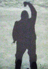 shadow me silhouette moonlight digitalcamera coldweather... (Photo: oedipusphinx — — — — theJWDban on Flickr)
