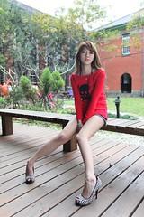 @  0979 (^o^y) Tags: woman girl lady asian model taiwan showgirl ntu sg taiwanese