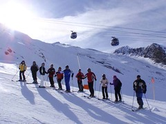 Gletscher Skitag am 25. Jänner 2010 (hotelvierjahreszeiten) Tags: austria zillertal hintertux