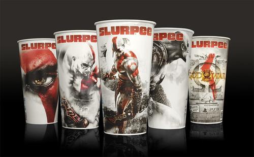 GoW III Slurpee Cup Images