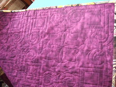Dragon quilting