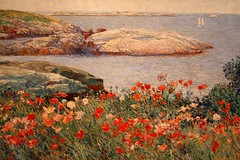 Poppies, Isle of Shoal, by Claude Hassam