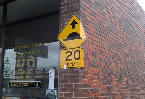 Road sign, Wonthaggi