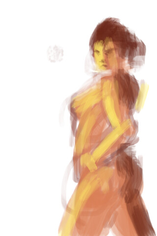 iPhone Figure Painting