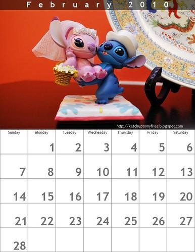 calendar Feb - KTMF