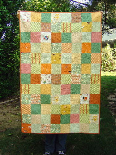 Dots & Critters Baby Quilt