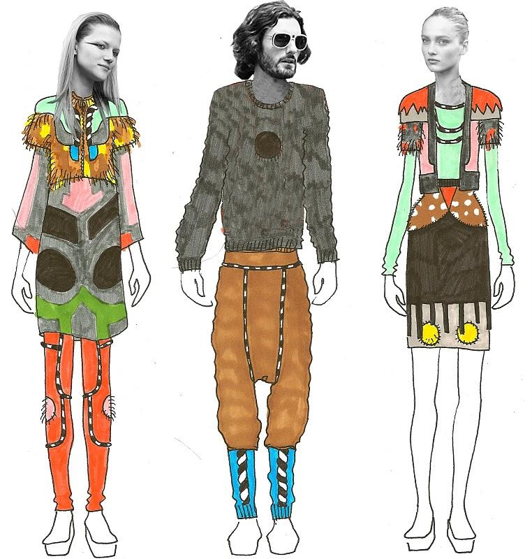 The Fashion Totem illustration 4