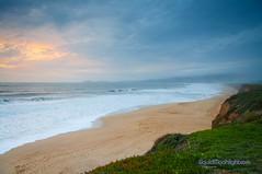 Sunset at Half Moon Bay - California (Darvin Atkeson) Tags: ocean california sunset sea usa moon beach america bay us sand surf waves pacific wave half beaches shores    darvin 5photosaday atkeson  darv   liquidmoonlightcom liquidmoonlight