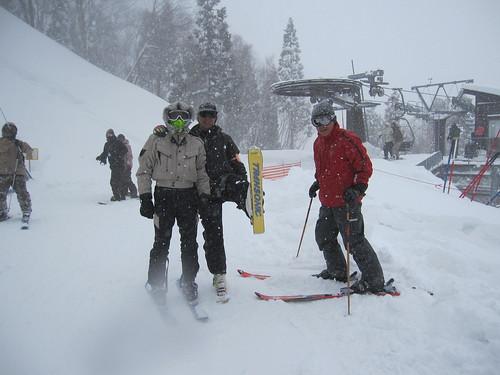 スキーに燃えるアラウンド60