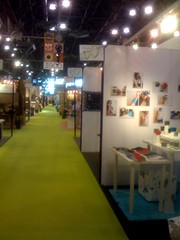 megan auman at the New York International Gift Fair