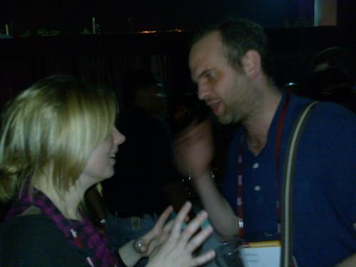 Jo and Mark at NASSCOM