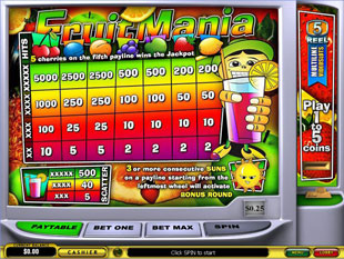 free FruitMania slot mini symbol