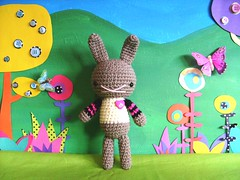 bella (rosie.ok) Tags: rabbit bunny animal kids fun sweater doll play handmade crochet craft crafty dolly amigurumi artisan rosieok