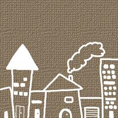 barrio (Roco Lara) Tags: dibujo casas barrio chimenea