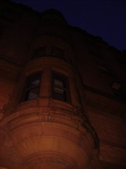 Dakota, Central Park West, NY (lotos_leo) Tags: park winter abstract west architecture night centralpark central reality upperwestside dakota дакота