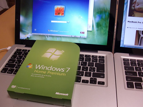 MacBook Pro * Windows 7