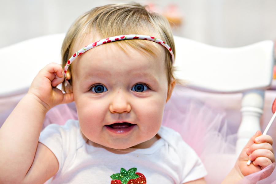 Candace Marie Design- Headshots/Ella's 1st B-day