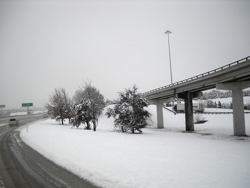 Snow in Dallas, TX