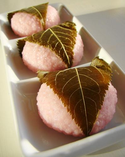 フリー画像| 食べ物| スイーツ/お菓子| 和菓子| 桜餅|       フリー素材|