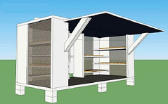 Haitian cabin basic design (by: DPZ)
