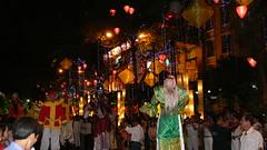 Tet 2010 - Saigon (bertie's world) Tags: lighting new city people musician costume asia year dancer vietnam entertainment chi ho tet minh saigon lunar