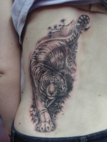 white tiger (Dejavu Tattoo Studio