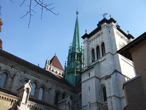 Geneva Cathedral area
